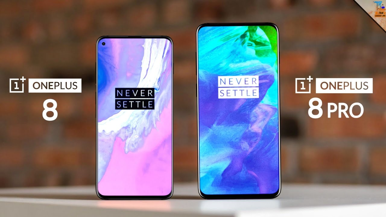 OnePlus 8 & OnePlus 8 Pro - Detailed Specifications Revealed ...