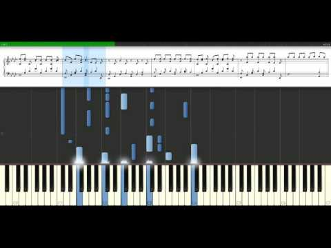 Timbaland - If we ever meet again feat. Katy Perry [Piano Tutorial] Synthesia