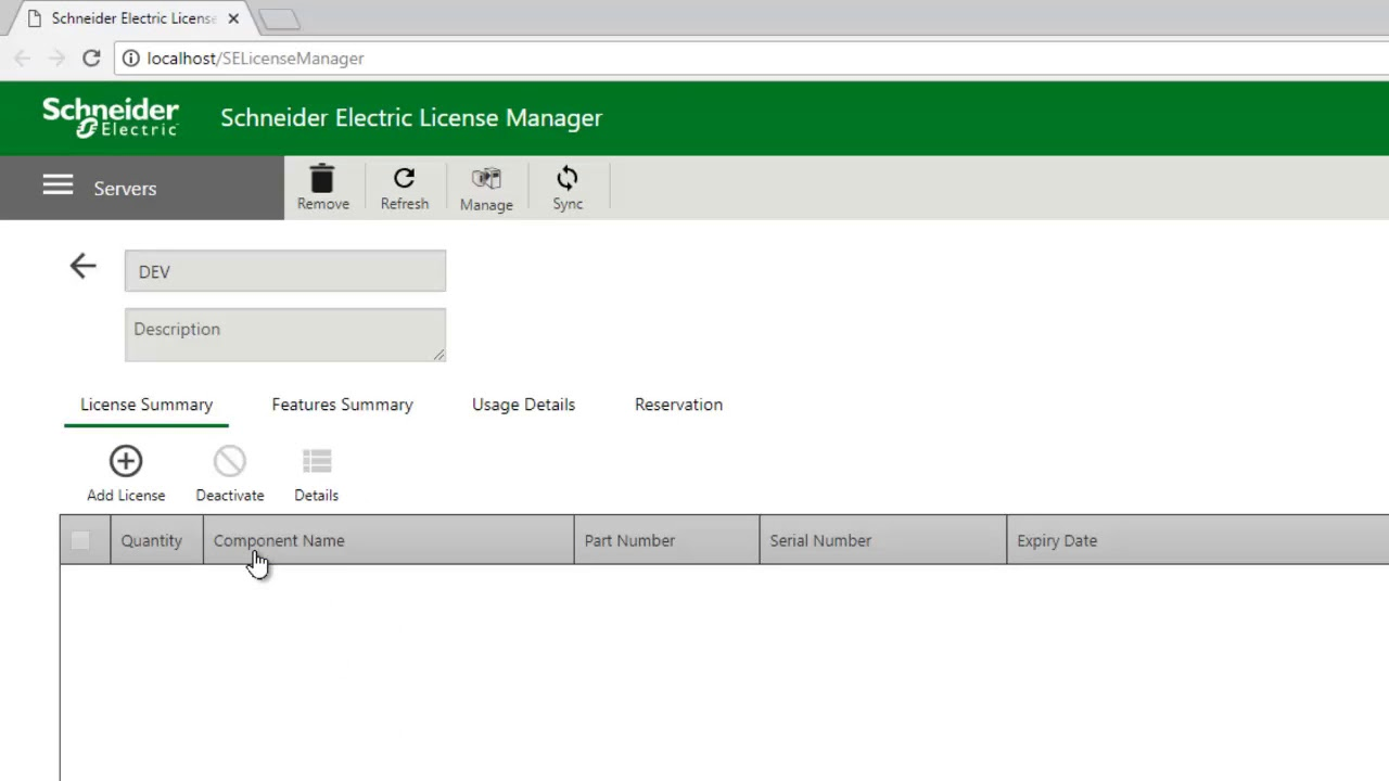 Online Activation of a Wonderware license Using the Schneider Electric  License Manager