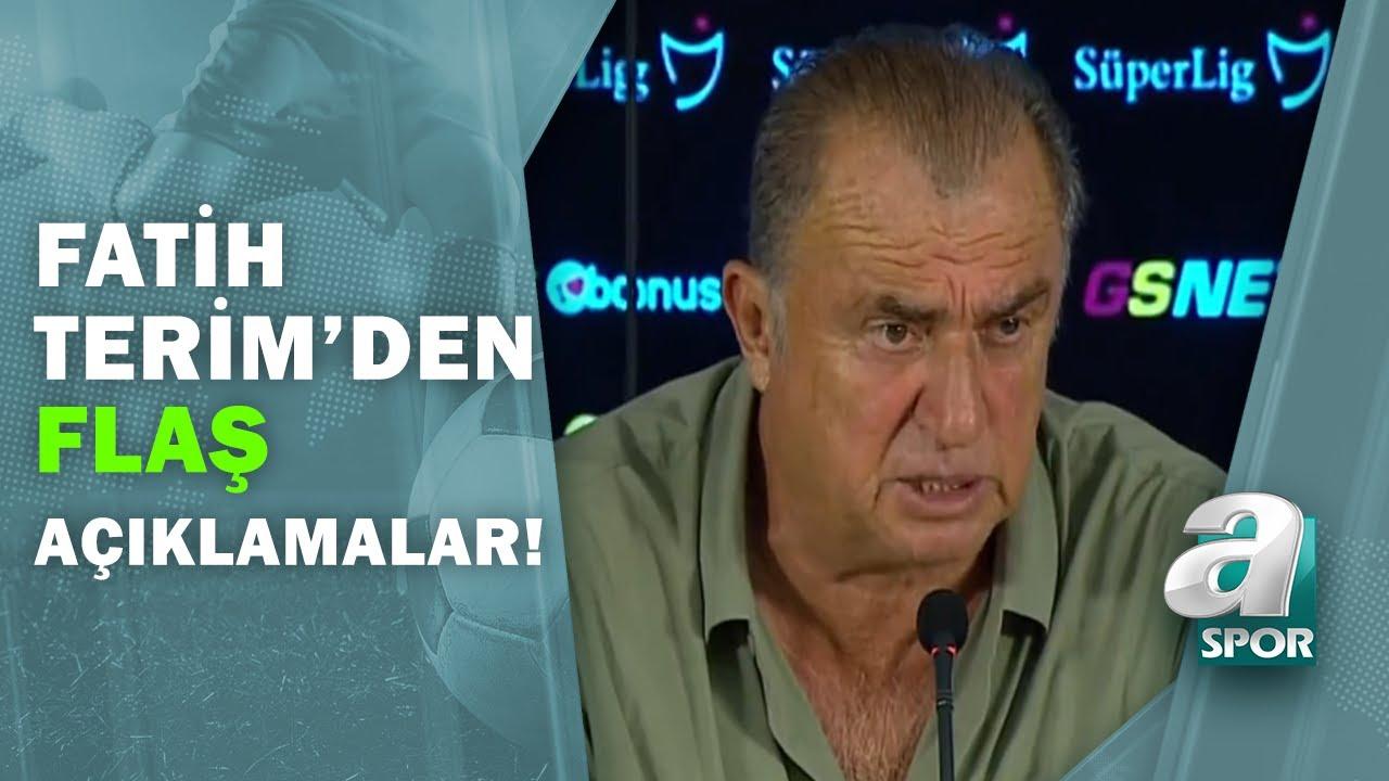 Galatasaray 3 - 3 Gaziantep FK  Fatih Terim Maç Sonu Basın Toplantısı Düzenledi! / A Spor