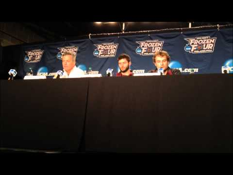 University of Minnesota Press Conference: Frozen Four Semifinals Practice (4/9/14)