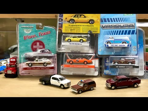 Huge Greenlight Mail Call! New '81 K-5 Blazer, Dually's And Wagons!! #diecast