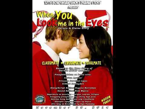 DARWIN & ELAINE STORY - WHEN YOU LOOK ME IN THE EYES
