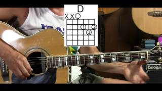 Super Easy -  How to Play The Rolling Stones Dead Flowers - Learn How to Play Guitar