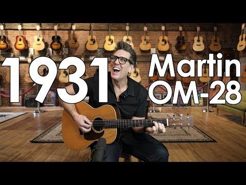 Daily Demo - 1931 Martin OM-28