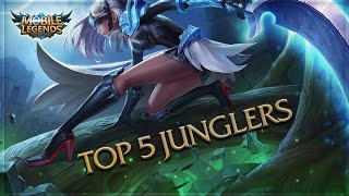 Mobile Legends: Top 5 Junglers / Top 5 Jungle Heroes