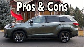 Reasons FOR and AGAINST: 2019 Toyota Highlander Hybrid on Everyman Driver