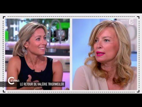 Valérie Trierweiler invitée spéciale de C à vous - 24/06/2015