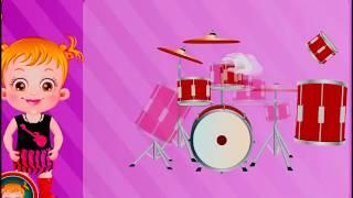 Мультик-игра Малышка Хейзел. Музыкальные инструменты