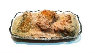 Сациви из Рыбы ✧ Баже из семечек ✧ грузинская кухня