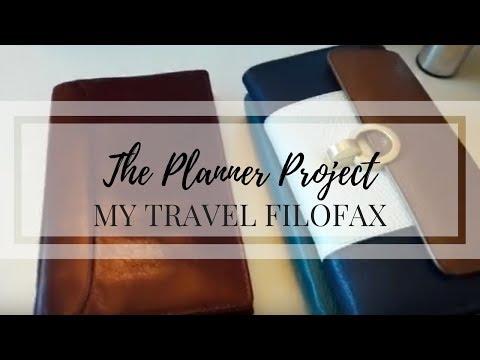 My Travel Filofax & Wallet - Filofax Lockwood Personal Slimline