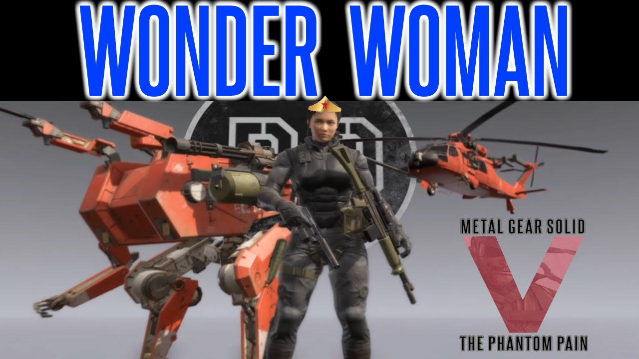 MGSV Phantom Pain - How To Play a FEMALE Main Character (Woman) | Tips |  Fast and Easy