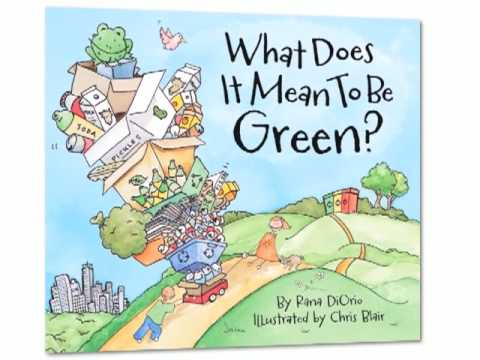teach kids to go green picture book kids fun recycling - Book Images For Kids
