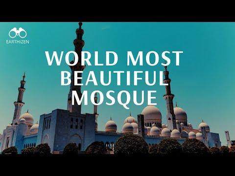 Sheikh Zayed Mosque   The Most Beautiful Mosque   Visit Dubai