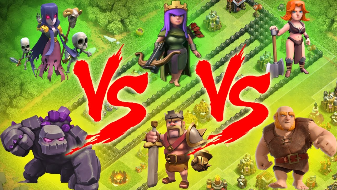 Mini Game Coc Lucu Balap Cewek Vs Cowok Clash Of Clans Indonesia Youtube