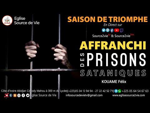 Saison de Triomphe - Jour 2 | Affranchi des prisons sataniques