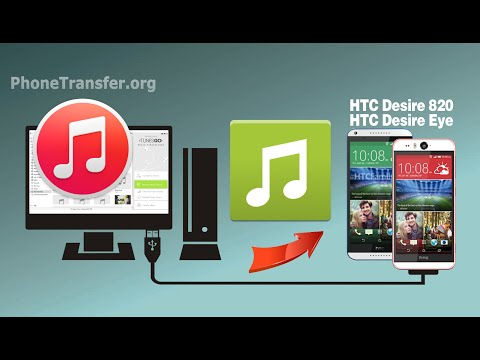 [iTunes to HTC Desire Eye]: How to Sync Music & Playlist from iTunes to HTC Desire Eye