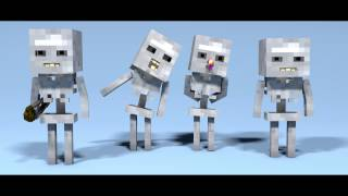 Banana Minions - Minecraft Animation