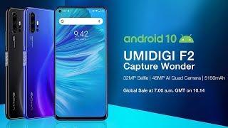 Новинка UMIDIGI F2 прямой конкурент Redmi Note 8 Pro! А ЭТО ЗАЯВКА НА ТОП
