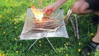 Portable Camping Fire Pİt That Will Blow Your Mind!