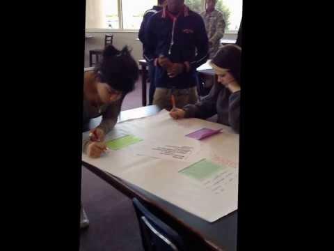 Write Around Text on Text @ NHS Media Center December 2013