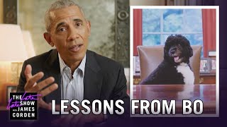 President Barack Obama on How Bo Changed the White House