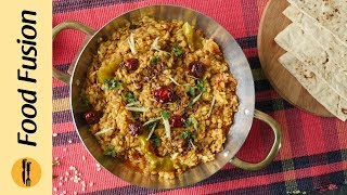 Mash Daal with Tadka Recipe By Food Fusion