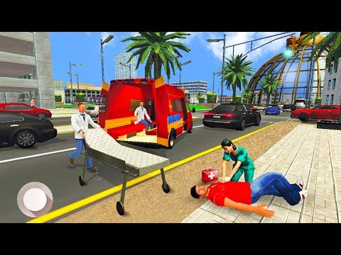 Ambulance Rescue Driver Simulator 2K19 🚑 - Android iOS Gameplay