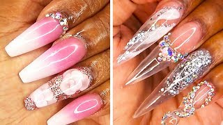 TRENDING NAIL ART IDEAS FOR ACRYLIC NAILS