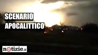 Maltempo in Puglia: tempesta di fulmini in Salento, lo scenario è apocalittico | Notizie.it