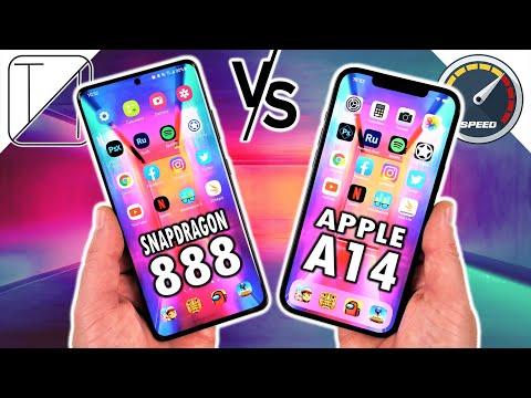 Samsung Galaxy S21 Ultra vs iPhone 12 Pro Max Speed Test