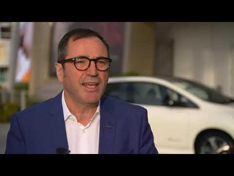 Denis Le Vot - Interview on the new Nissan Leaf e+