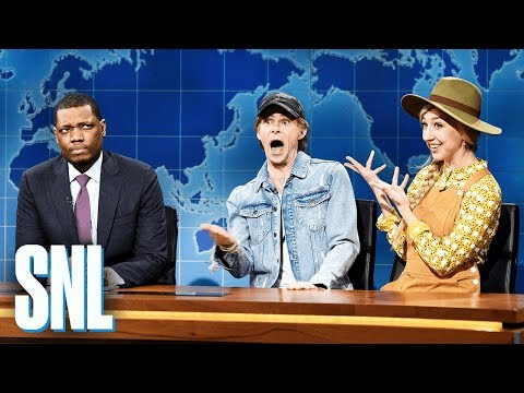 Weekend Update: Nico Slobkin and Brie Bacardi - SNL