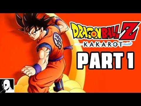 Dragon Ball Z Kakarot Gameplay Deutsch Part 1 - Training mit Son Gohan (DerSorbus Let's Play German)