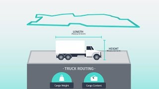How HERE enables fleet routing