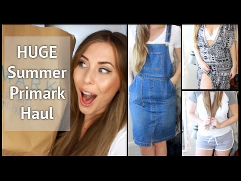 cbf9bcb683 HUGE Summer Try On Primark Haul ft ASOS, New Look & More | xameliax