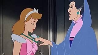 """CINDERELLA (1950) Scene: """"Never go back on my word...""""/Shamed."""