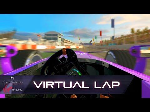 Formula E Marrakesh E-Prix Virtual Lap With Alex Lynn! (Real Racing 3)
