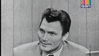 What's My Line? - Jack Palance (Nov 27, 1955)