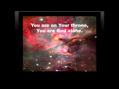 You Are God Alone - Marvin Sapp with Lyrics