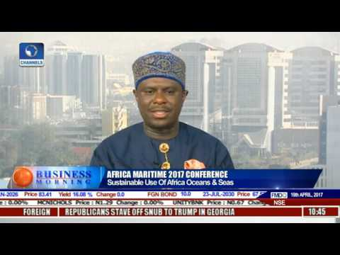 Business Morning: Nigeria Hosts 3rd Edition Of Africa Maritime Conference Pt 2