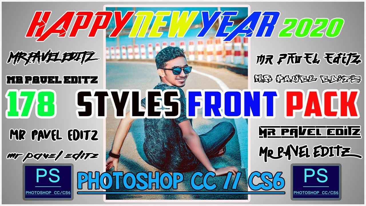 Download Photoshop New    178 Fonts Pack    Free download - YouTube