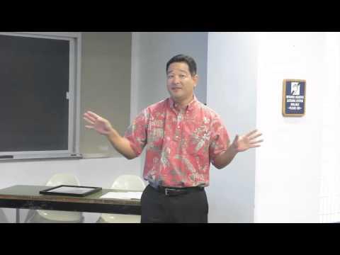 Hawaii Senate Certificate CFA 2015