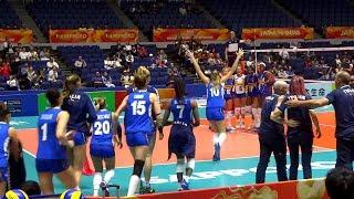 👐 Italy vs Bulgaria  VOLLEYBALL WOMEN'S WORLD CHAMPIONSHIP JAPAN 2018 女子バレーボール世界選手権 イタリア 対 ブルガリア
