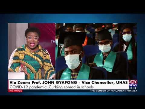 COVID-19 Pandemic: Curbing spread in schools - The Probe on Joy News (8-2-21)