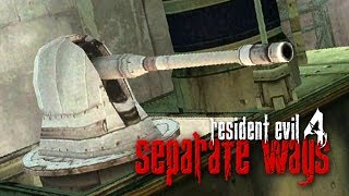 RESIDENT EVIL 4 - Separate Ways #8: Canhões!?
