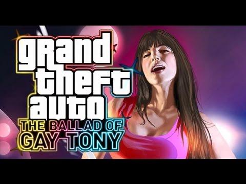 GTA 4: The Ballad of Gay Tony all cutscenes HD GAME
