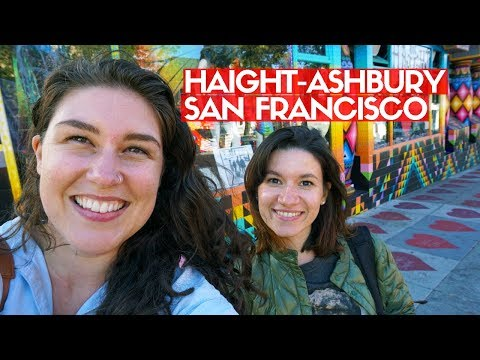 HAIGHT ASHBURY SAN FRANCISCO | Hippie History, Shopping & Tour