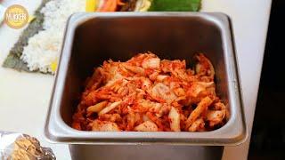 산본역 │ 김치 치즈 김밥 │ Kimchi Cheese…
