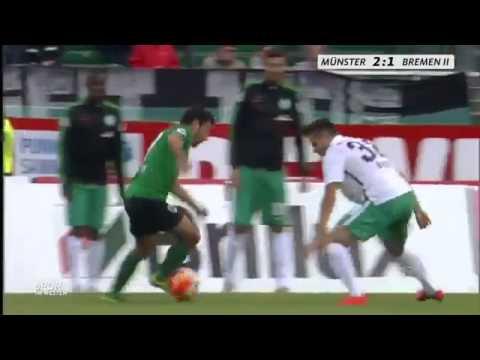 Mehmet Kara (Preußen Münster) - Traumtor (Preußen Münster - Werder Bremen 2)